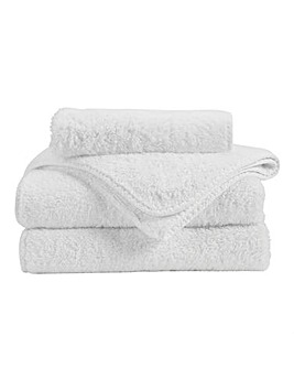 Christy Harrogate Towel Range-White