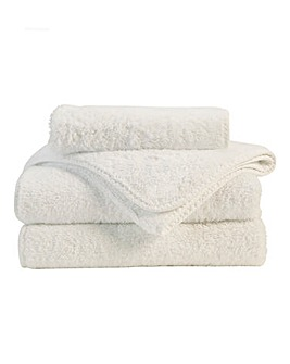 Christy Harrogate Towel Range-Limewash
