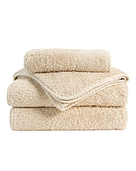 Christy Harrogate Towel Range-Pebble