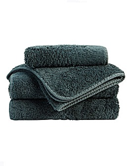 Christy Harrogate Towel Range-Indian Ink