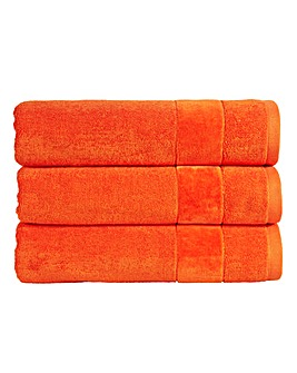 Christy Prism Towel Range- Orangeade