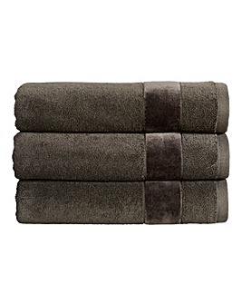 Christy Prism Towel Range- Tarmac
