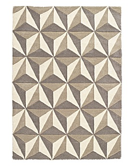 Cubics Wool Rug Large