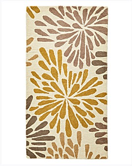 Flowerburst Wool Rug Large