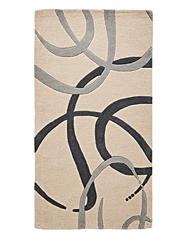 Ribbon Wool Rug