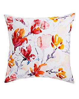 Bursting Floral Cushion