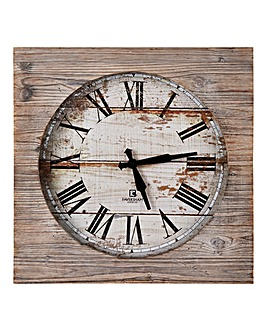 Ashdown Wooden Clock