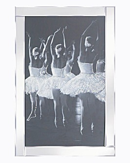 Ballerina Mirror Wall Art