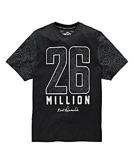 26 Million Yofi Black T-Shirt