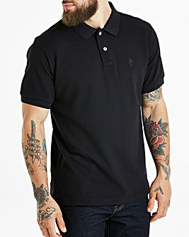 Capsule Black Short Sleeve Polo R