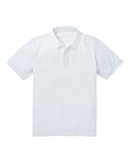 Capsule White Short Sleeve Polo R