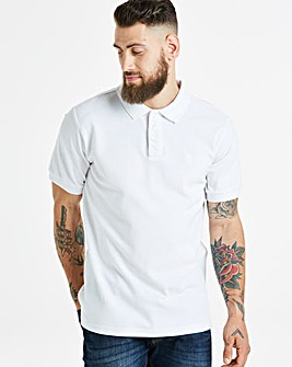 Capsule White Short Sleeve Polo L