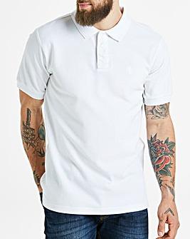 Capsule White Short Sleeve Polo L