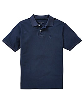 Capsule Navy Short Sleeve Polo L
