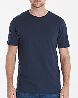 Capsule Navy Crew Neck T-shirt L