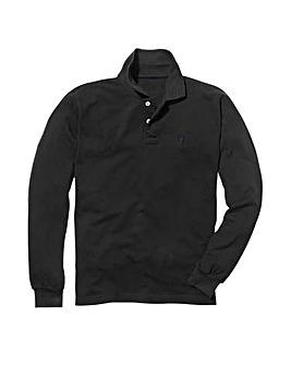 Capsule Black Long Sleeve Polo R