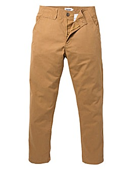 Jacamo Tobacc Stretch Tapered Chino 33in