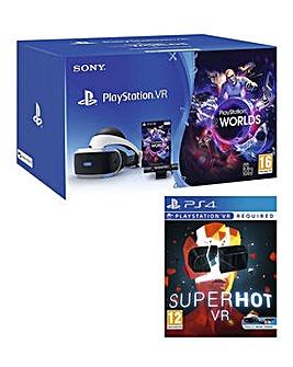Playstation VR Bundle and Super Hot