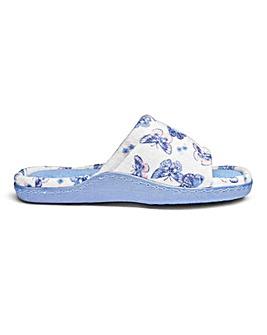Heavenly Soles Comfort Slide Slipper EEE