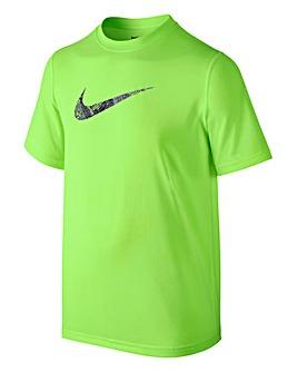 Nike Boys Dry Carbon Swoosh T-Shirt