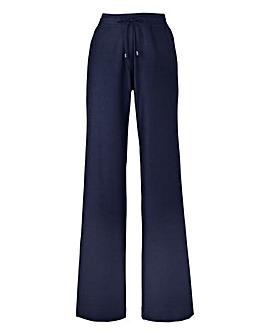 Linen Mix Trousers Length Short