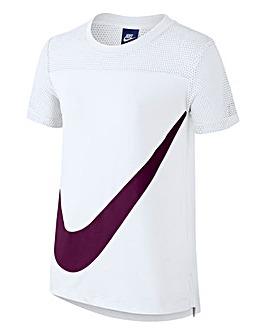 Nike Older Girls Sportswear Prep T-Shirt