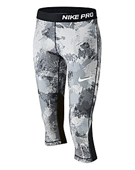 Nike Older Girls Pro Col Capri Pants