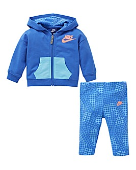 Nike Baby Girls Futura Hoodie And Leggi