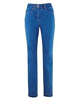 MAGISCULPT Slim Leg Jean Length Short