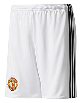 adidas MUFC Boys Youth Home Shorts