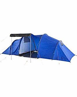 ProAction 6 Man 2 Room Tent.