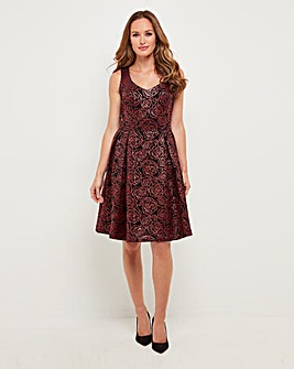 Joe Browns Flocked Dress