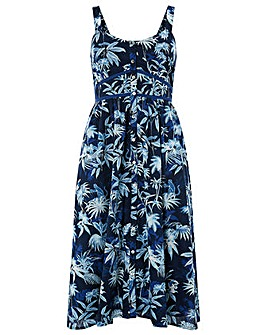 Monsoon Cleo Monkey Midi Dress