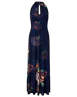 Monsoon Jasmine Print Maxi Dress
