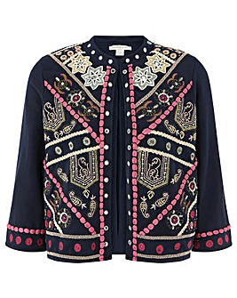 Monsoon Tanya Embroidered Jacket