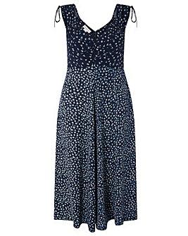 Monsoon Donna Ditsy Print Dress