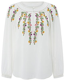Monsoon Sula Embroidered Blouse