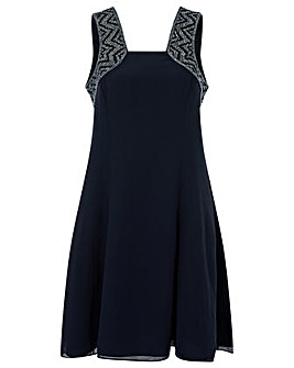 Monsoon Blair Embellished Short Dress