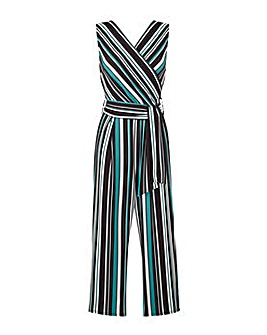 Grace Made in Britain striped jumpsuit