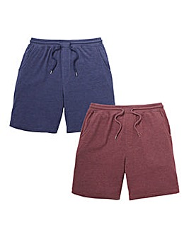 Capsule Pack of 2 Jersey Shorts