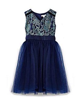 Yumi Girl Metallic Prom Dress