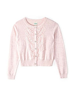 Yumi Girl Lace Placket Detail