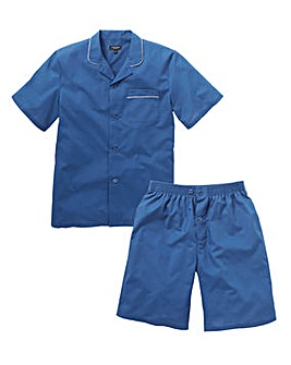 Capsule Blue Short Sleeve PJ Set