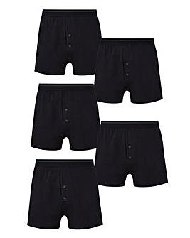 Capsule Pack of 5 Loose Fit Boxers
