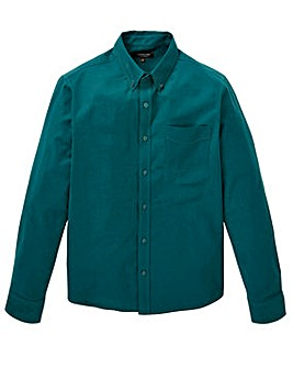 Capsule L/S Teal Oxford Shirt Long