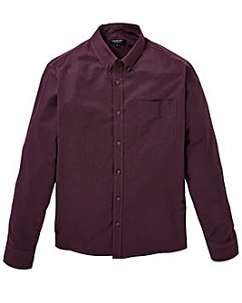 Capsule L/S Plum Oxford Shirt Long