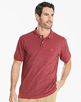 Capsule Red Embroidered Polo Regular