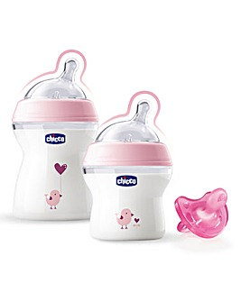 Chicco Bottle and Soother Set