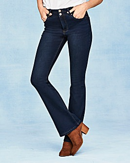 Shape & Sculpt Bootcut Jeans Long