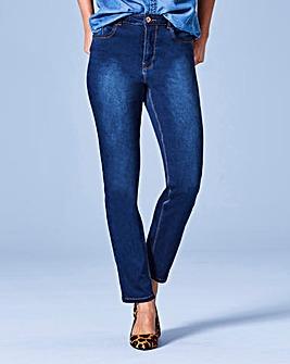 Premium Modal Slim Leg Jeans Reg